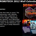 ROBOTECH 2012 Wall Calendar